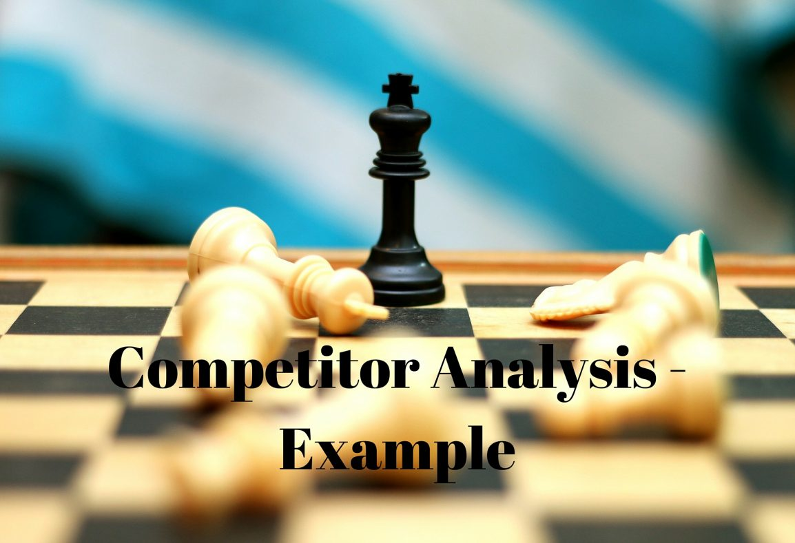 Competitor analysis - example
