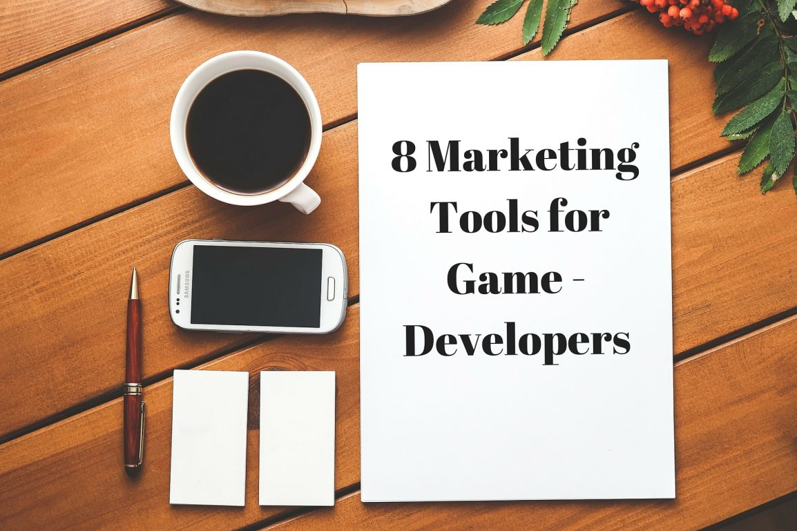 Marketing Tools for gamedevs
